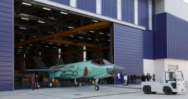 Elkészült az első Olaszországban gyártott F–35-ös