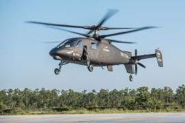 Levegőbe emelkedett a Sikorsky legújabb generációs forgószárnyasa, az S–97 RAIDER