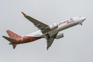 Átadták az első Boeing B 737-8 MAX-et