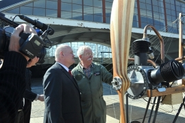 100 éves repülő másolata került a Szolnoki Repülőmúzeumba