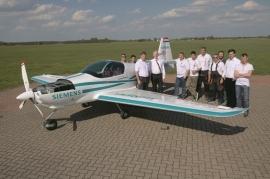 Elektromos repülőgép készül idehaza