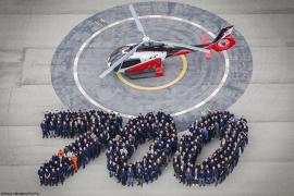 Elkészült a 700. Airbus H130-as könnyű helikopter