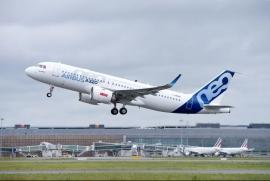 Felszállt az első CFM LEAP–1A hajtóműves A320neo