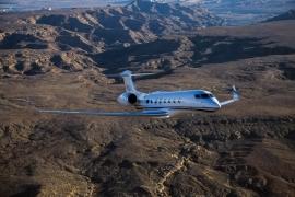 Új város-páros sebességi világrekordokat repült a Gulfstream G650ER