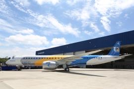 Kigurult az első új Embraer E195-E2 jet is