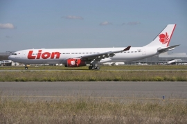 A Lion Air első A330-asa
