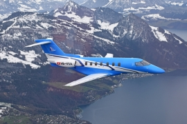 Levegőben a harmadik Pilatus PC–24-es jet